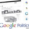 Google Politics 2012 : wireframe, recherche iconographique et bien plus !