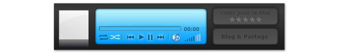 Deezer player audio