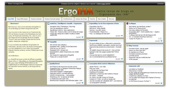 Univers Ergoihm Ergophile Ergonomie Web Mobile