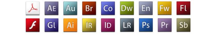 Icone Adobe