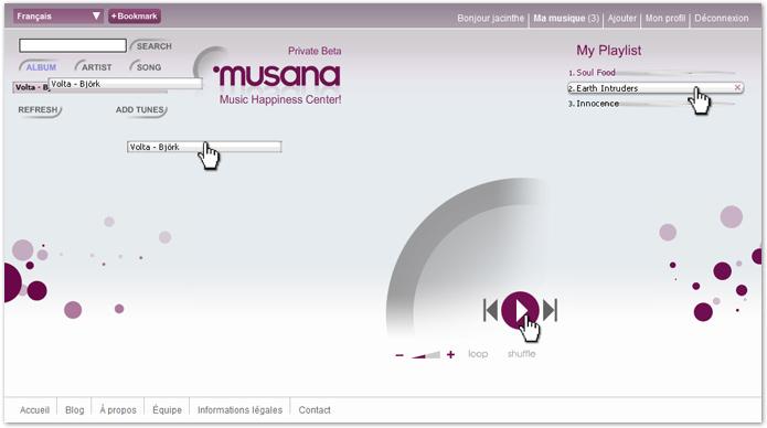 Musana player