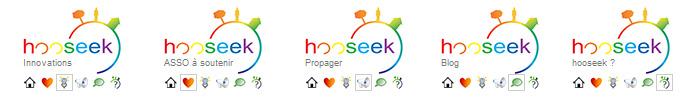 Hooseek menu retour