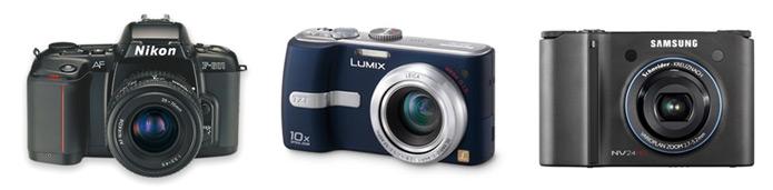 Nikon Lumix Samsung