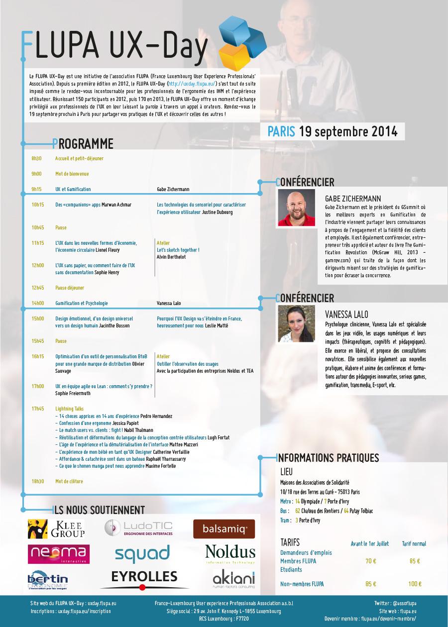 FLUPA UX-Day 2014