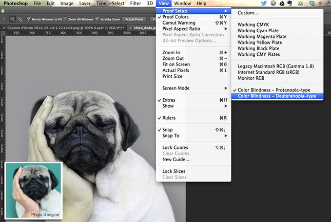 photoshop daltonisme